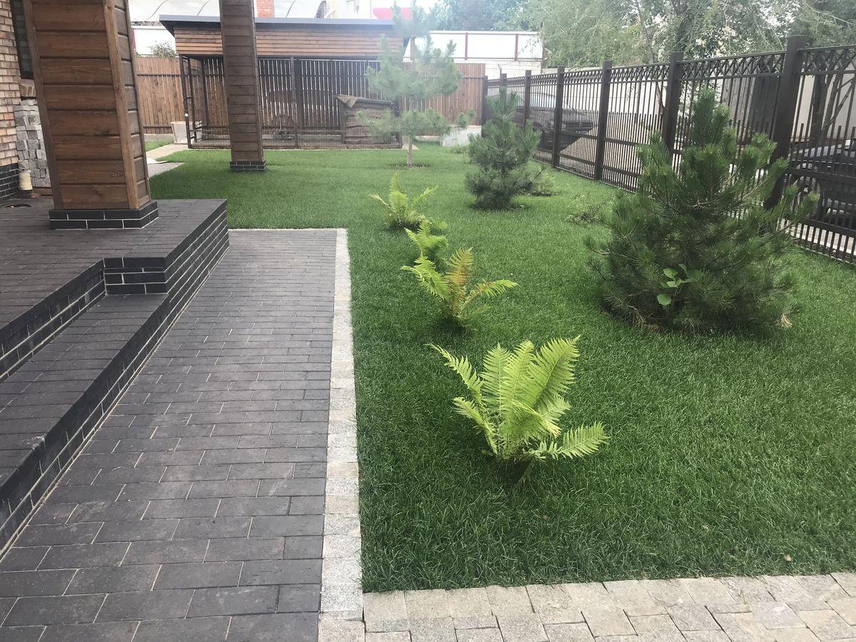 Рулонный газон в Саратове 2-3